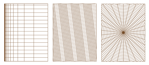 Sample design grids