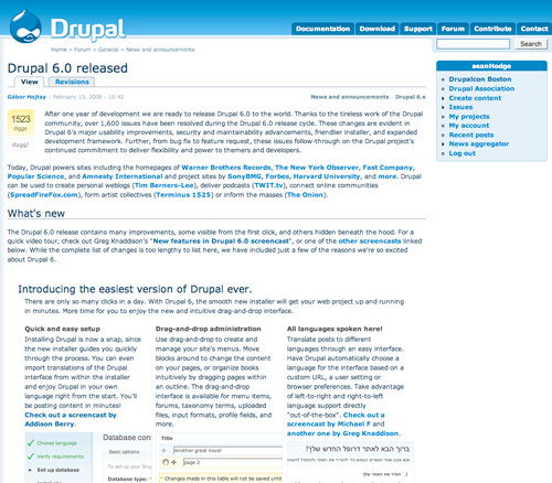 Drupal 6