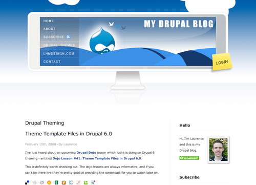 My Drupal Blog