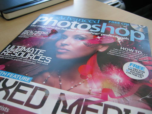 Go Media in Advanced Photoshop Magazine