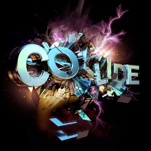 COLLIDE Illustrative Typography