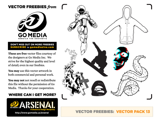Free vector pack 13