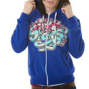 Paint the Stars Candy Hoodie designed by Go Media