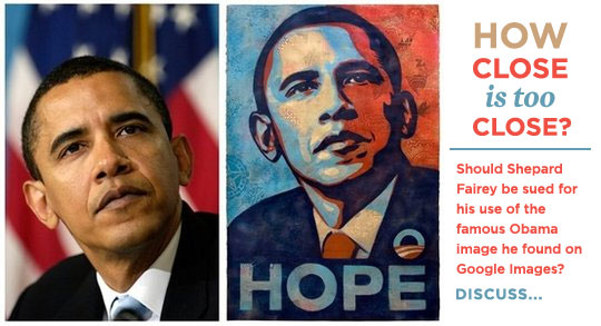 Obama HOPE poster by Shepard Fairey