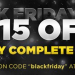 Black Friday Sale: $15.00 Off!