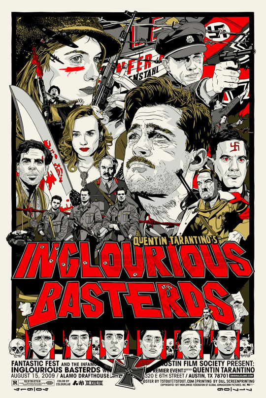 Inglorious Basterds Poster by Tyler Stout