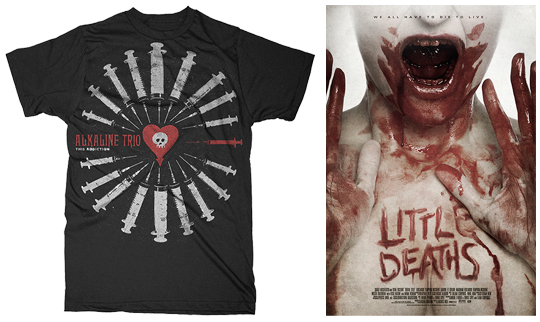 Kyle Crawford - Client work - Alkaline Trio - Little death movie poster