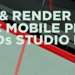 How to model and render a basic mobile phone using 3ds studio max