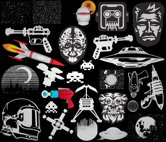Go Media - Vector set 20 - Outerspace