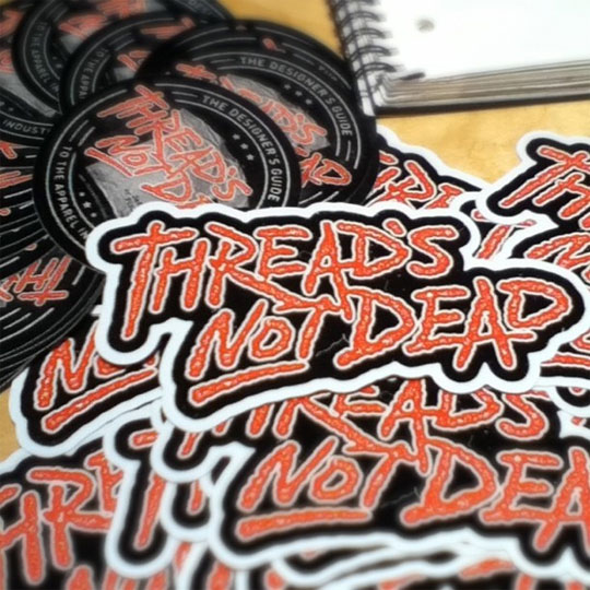 Thread's Not Dead Stickers