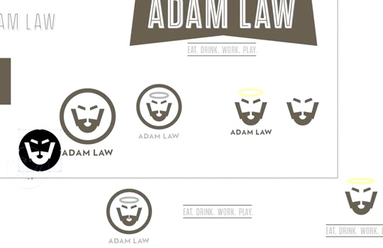 """Brand yourself - logo"" video tutorial by Go Media's Adam Law"