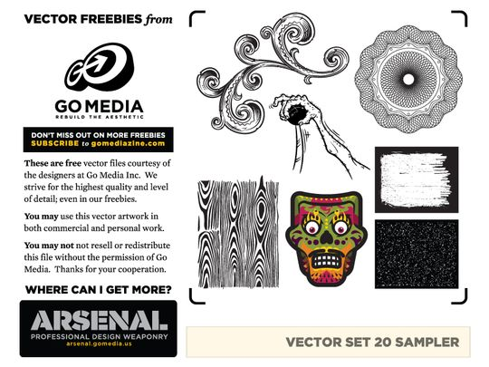 Go Media - Vector set 20 sampler - Preview