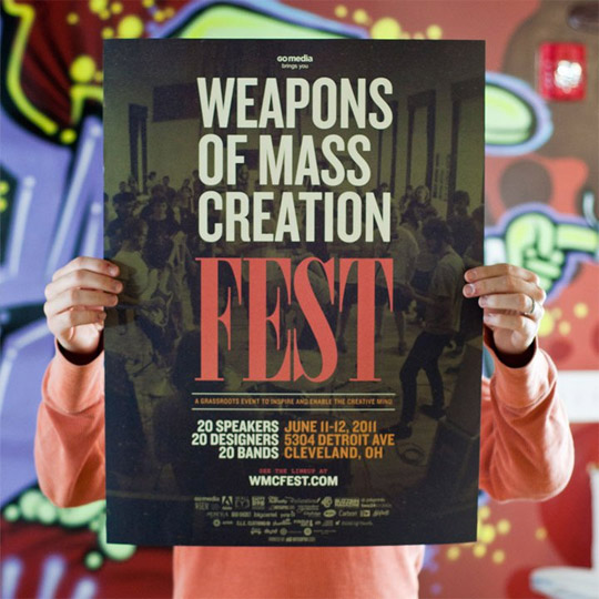 Weapons of Mass Creation Fest Poster