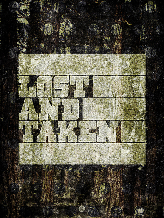 SAoS Lost and Taken poster