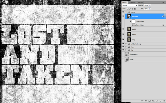 SAoS Lost and Taken poster tutorial - Final stretch 04