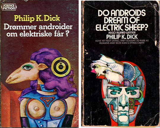Do androids dream of electric sheep cover examples