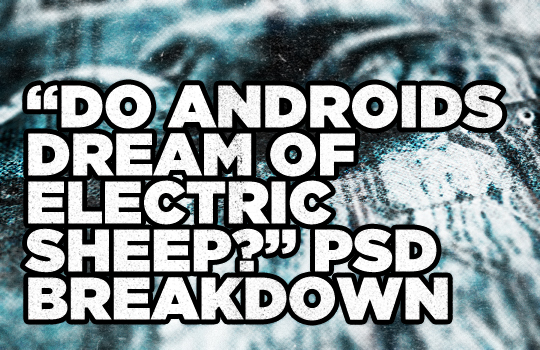 Do androids dream of electric sheep PSD breakdown