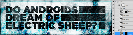 SAoS - Do androids dream of electric sheep - Type elements details 05