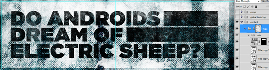 SAoS - Do androids dream of electric sheep - Type elements details 06.01