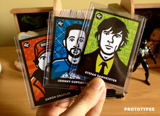 Gum Cards Prototypes