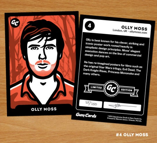 Olly Moss Gum Card