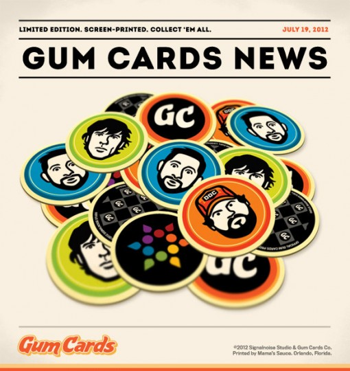 Gum Cards Stickers