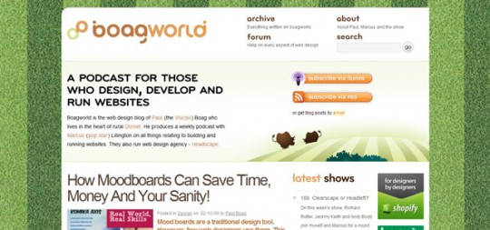 The Boagworld Web Design Show