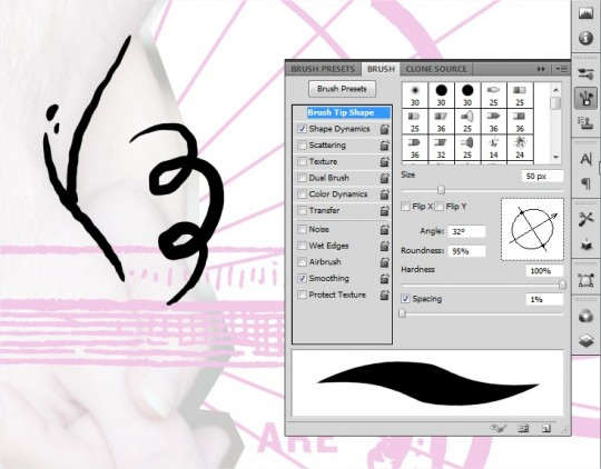 jeff finley wacom brush settings in photoshop