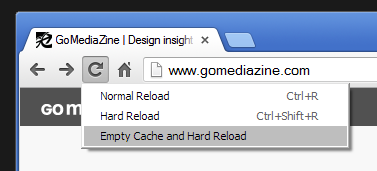 Empty cache and hard reload.