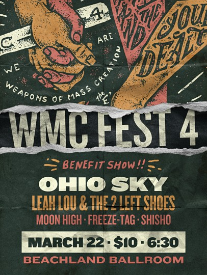 WMC Benefit Show Flyer