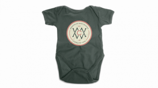 Baby Onesie - Mocked Up