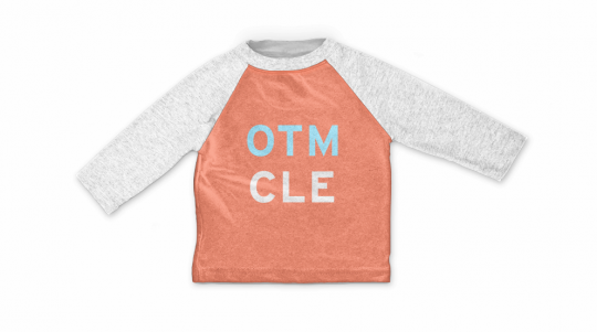 Kids Baseball Tee - Mocked Up