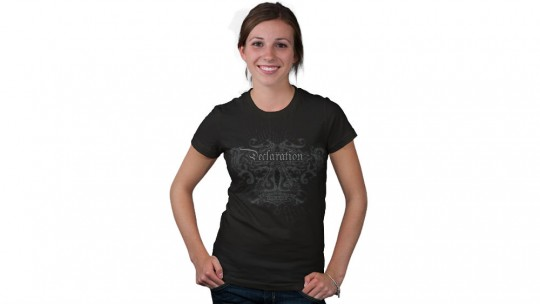 Women's Crew Neck T-Shirt - Modelshot