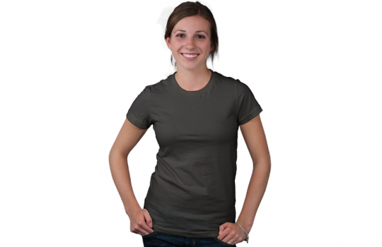 Women's Crew Neck Tee Modelshot
