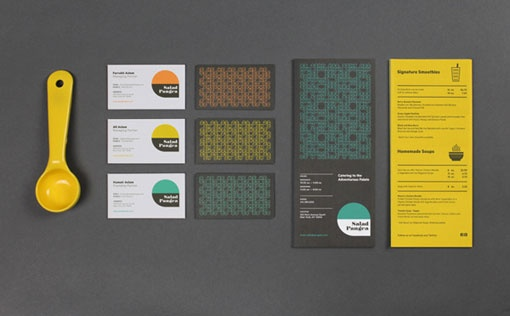 Tag Collective: Salad Pangea Identity and Collateral