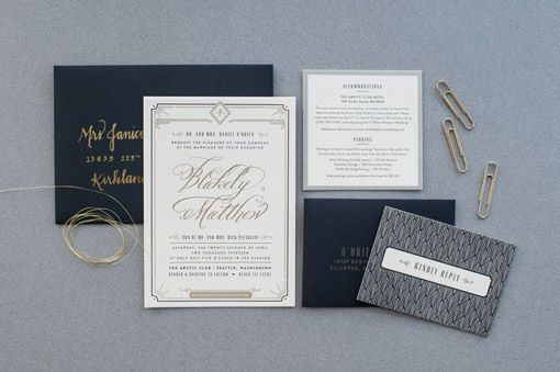 Carina Skrobecki and Lizzy Showman: Blakely & Matthew Wedding Materials